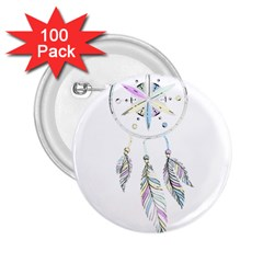 Dreamcatcher  2 25  Buttons (100 Pack)