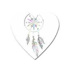 Dreamcatcher  Heart Magnet