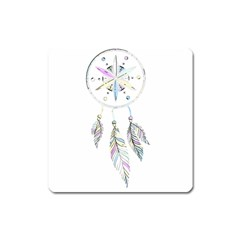 Dreamcatcher  Square Magnet