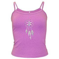 Dreamcatcher  Dark Spaghetti Tank