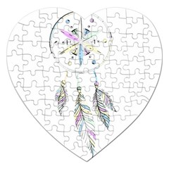Dreamcatcher  Jigsaw Puzzle (heart)