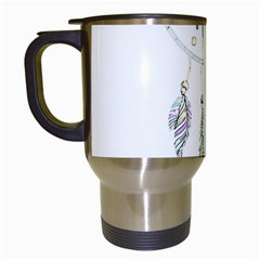 Dreamcatcher  Travel Mugs (white)