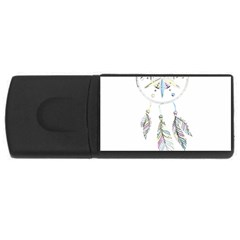 Dreamcatcher  Rectangular Usb Flash Drive