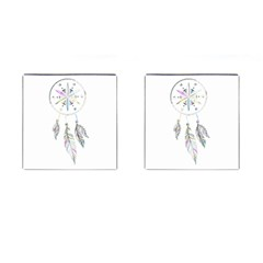 Dreamcatcher  Cufflinks (square)