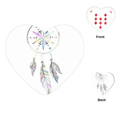 Dreamcatcher  Playing Cards (heart)