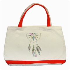 Dreamcatcher  Classic Tote Bag (red)