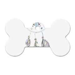 Dreamcatcher  Dog Tag Bone (one Side)