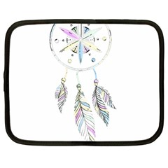 Dreamcatcher  Netbook Case (large)