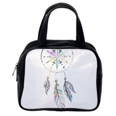 Dreamcatcher  Classic Handbags (one Side)