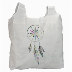 Dreamcatcher  Recycle Bag (two Side)