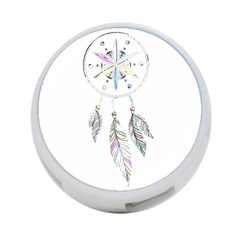 Dreamcatcher  4 Port Usb Hub (one Side)