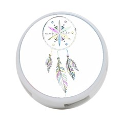 Dreamcatcher  4 Port Usb Hub (two Sides)