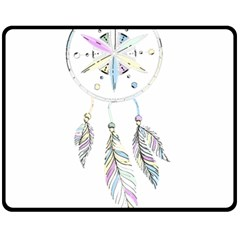 Dreamcatcher  Fleece Blanket (medium)