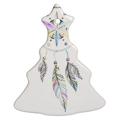 Dreamcatcher  Christmas Tree Ornament (two Sides)