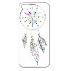 Dreamcatcher  Apple Seamless Iphone 5 Case (clear)