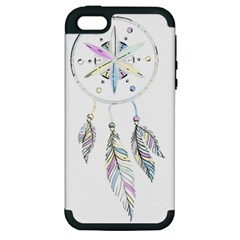 Dreamcatcher  Apple Iphone 5 Hardshell Case (pc+silicone)