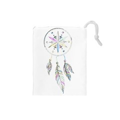 Dreamcatcher  Drawstring Pouches (small)