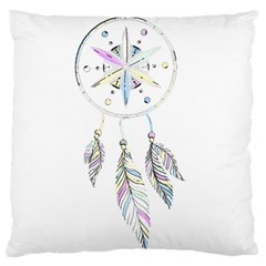 Dreamcatcher  Large Flano Cushion Case (one Side)