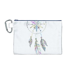 Dreamcatcher  Canvas Cosmetic Bag (m)