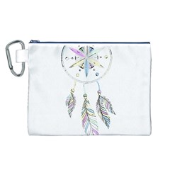Dreamcatcher  Canvas Cosmetic Bag (l)