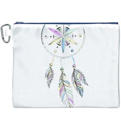 Dreamcatcher  Canvas Cosmetic Bag (xxxl)