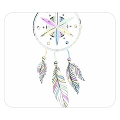 Dreamcatcher  Double Sided Flano Blanket (small)
