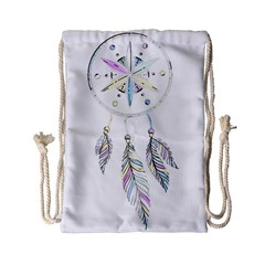 Dreamcatcher  Drawstring Bag (small)