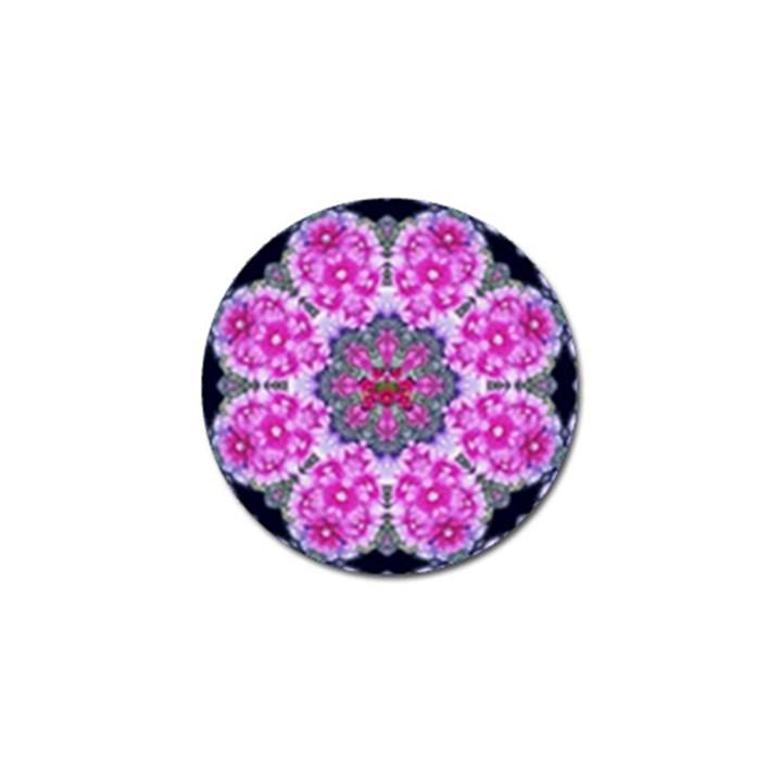 Fantasy Cherry Flower Mandala Pop Art Golf Ball Marker (10 pack)