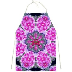 Fantasy Cherry Flower Mandala Pop Art Full Print Aprons