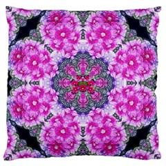 Fantasy Cherry Flower Mandala Pop Art Large Cushion Case (one Side)