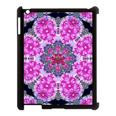 Fantasy Cherry Flower Mandala Pop Art Apple Ipad 3/4 Case (black)