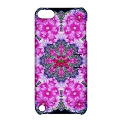 Fantasy Cherry Flower Mandala Pop Art Apple Ipod Touch 5 Hardshell Case With Stand