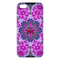 Fantasy Cherry Flower Mandala Pop Art Iphone 5s/ Se Premium Hardshell Case