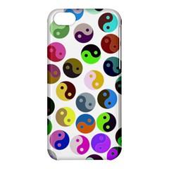 Multi Ying Yang Apple Iphone 5c Hardshell Case