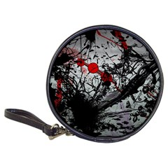 Black & Red Mess Classic 20 Cd Wallets