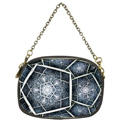 Form Glass Mosaic Pattern  Chain Purses (two Sides)