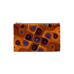 Lines Patterns Background  Cosmetic Bag (small)