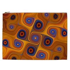 Lines Patterns Background  Cosmetic Bag (xxl)