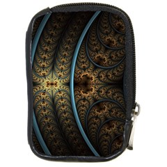 Lines Dark Patterns Background Spots  Compact Camera Cases
