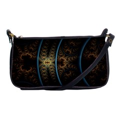 Lines Dark Patterns Background Spots  Shoulder Clutch Bags