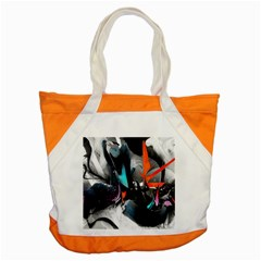 Lines Spray Brush Paint Color  Accent Tote Bag