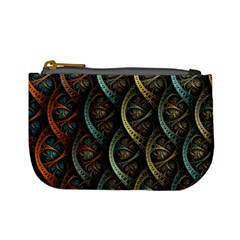 Line Semi Circle Background Patterns  Mini Coin Purses