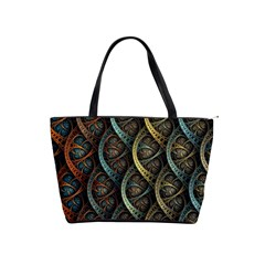 Line Semi Circle Background Patterns  Shoulder Handbags