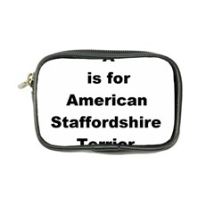 A Is For American Staffordshire Terrier Coin Purse