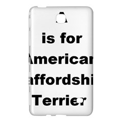 A Is For American Staffordshire Terrier Samsung Galaxy Tab 4 (7 ) Hardshell Case