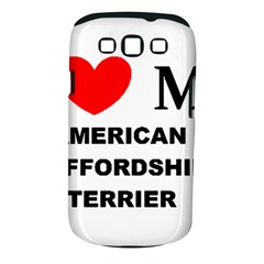 American Staffordsdhire Terrier Love Samsung Galaxy S Iii Classic Hardshell Case (pc+silicone)