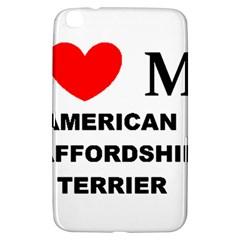 American Staffordsdhire Terrier Love Samsung Galaxy Tab 3 (8 ) T3100 Hardshell Case
