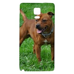 4 Full Staffordshire Bull Terrier Galaxy Note 4 Back Case