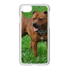 4 Full Staffordshire Bull Terrier Apple Iphone 7 Seamless Case (white)