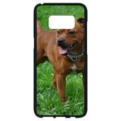 4 Full Staffordshire Bull Terrier Samsung Galaxy S8 Black Seamless Case